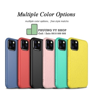 Ốp dẻo Color Pastel iPhone 11 (series)
